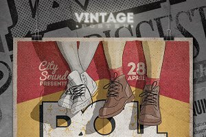 Vintage Poster / Flyer - III