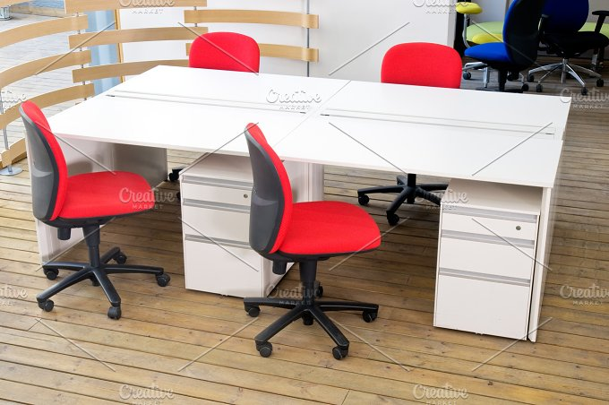 modern office desk and chairs set 2.jpg - Architecture