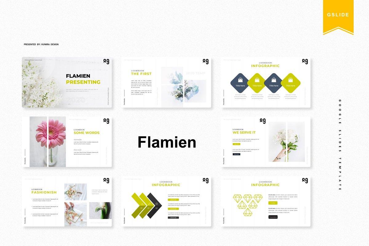 Flamien | Google Slides Template