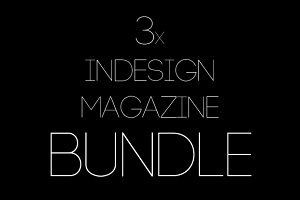 3x Magazine Bundle (65% Off)