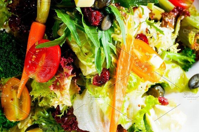 fresh mixed salad 21.jpg - Food & Drink