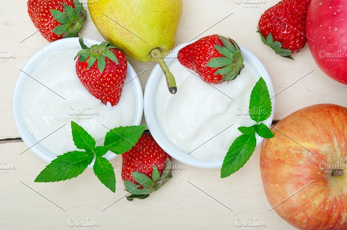 fresh fruits and organic yogurt 007.jpg - Food & Drink