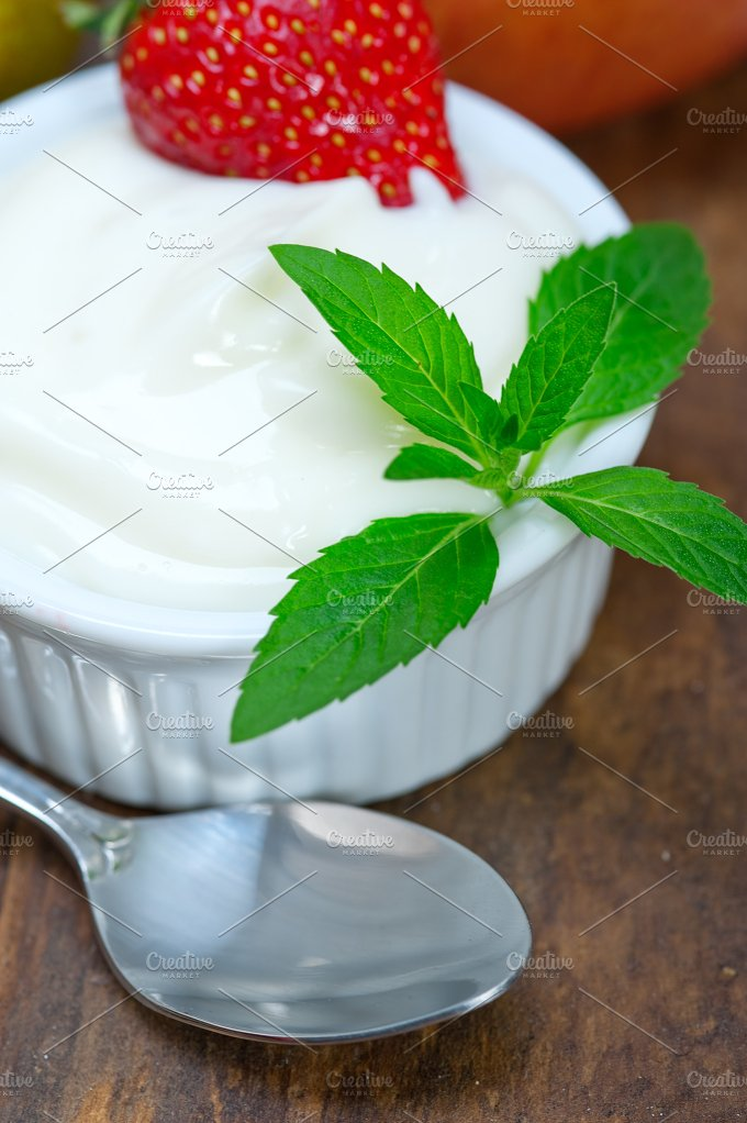 fresh fruits and organic yogurt 029.jpg - Food & Drink