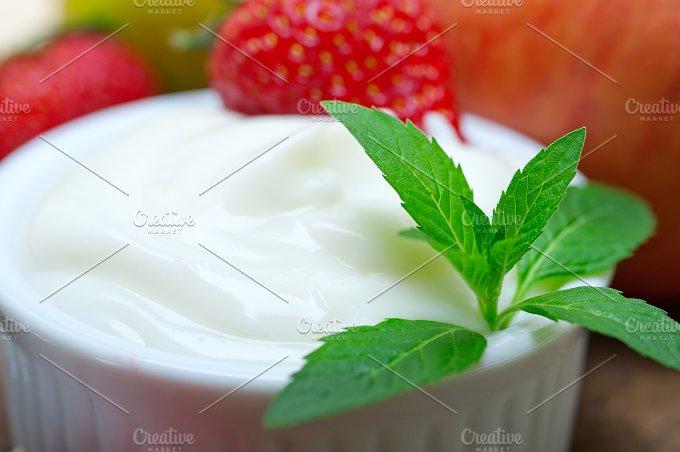 fresh fruits and organic yogurt 027.jpg - Food & Drink