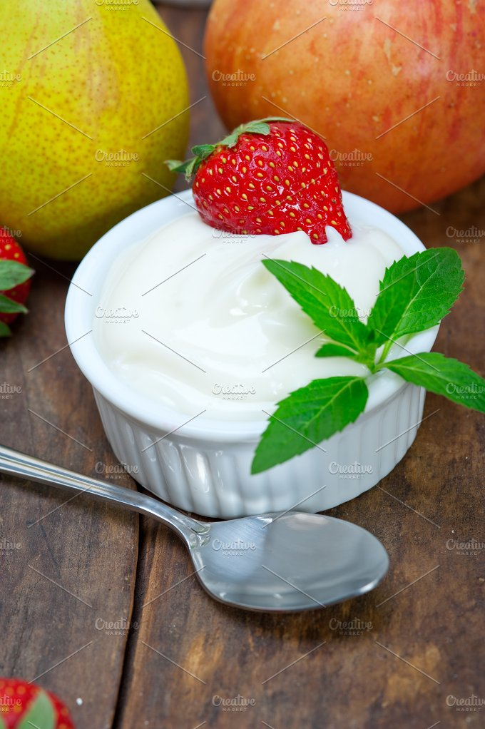 fresh fruits and organic yogurt 032.jpg - Food & Drink