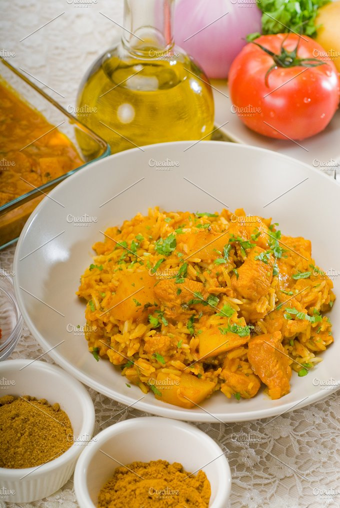 curry beef rice and potatoes 12.jpg - Food & Drink