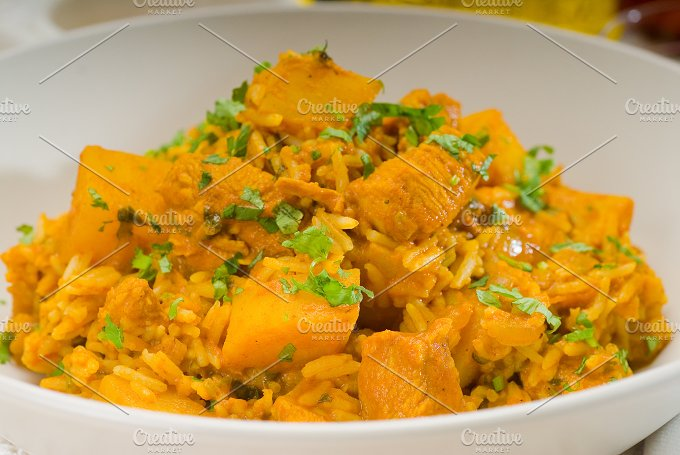 curry beef rice and potatoes 14.jpg - Food & Drink