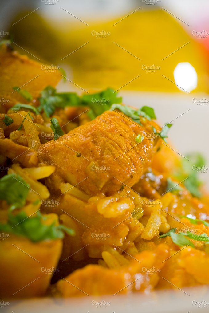 curry beef rice and potatoes 17.jpg - Food & Drink