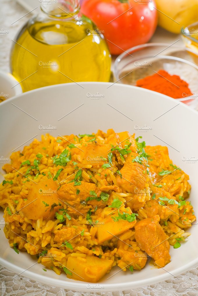 curry beef rice and potatoes 19.jpg - Food & Drink
