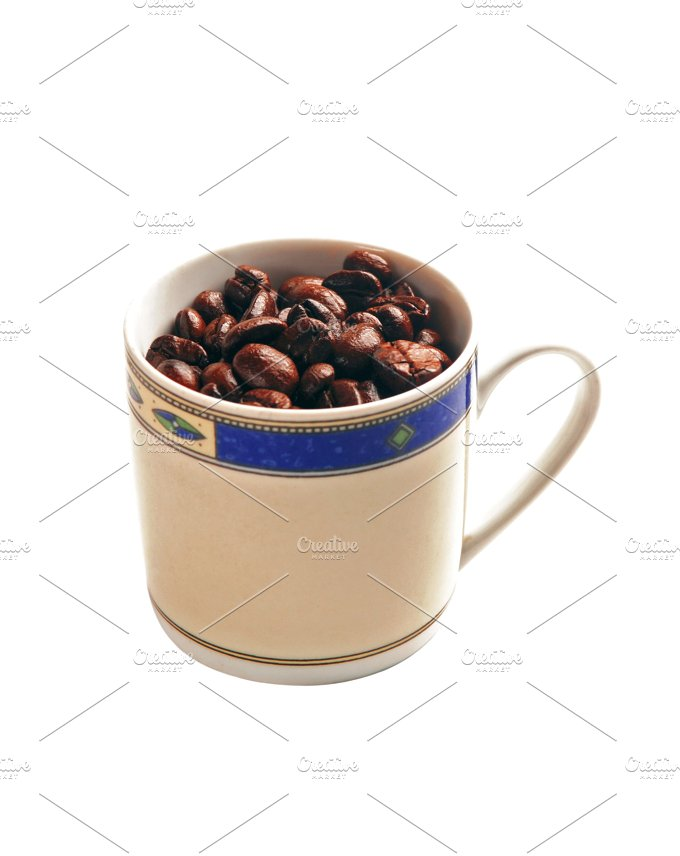 coffee bean cup.jpg - Food & Drink