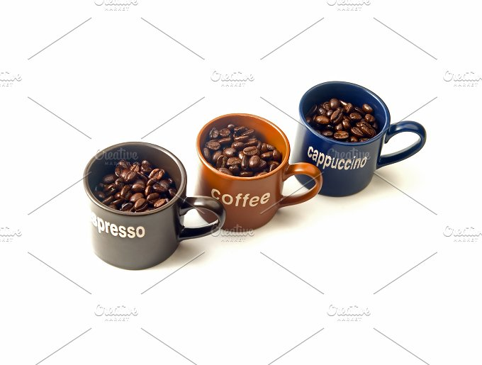 coffee cups & beans 4.jpg - Food & Drink