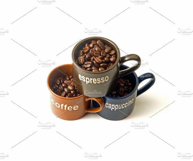 coffee cups & beans 6.jpg - Food & Drink