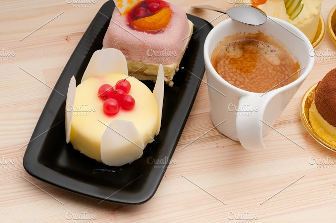 coffee and fruit dessert pastry cake 10.jpg - Food & Drink