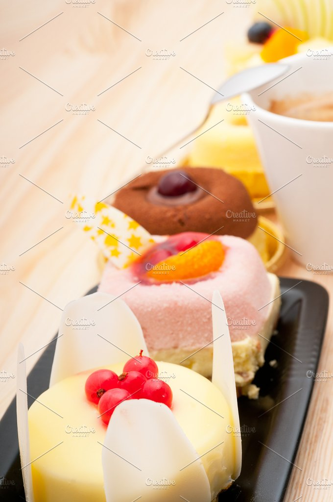 coffee and fruit dessert pastry cake 13.jpg - Food & Drink