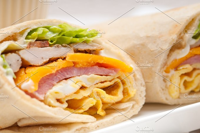 club pita wrap sandwich 23.jpg - Food & Drink