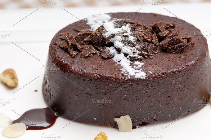 chocolate and walnuts dessert cake 07.jpg - Food & Drink
