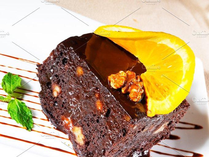 chocolate and walnuts cake 1.jpg - Food & Drink