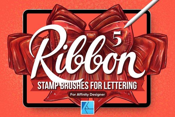 5 Ribbon Affinity Stamp Brushes