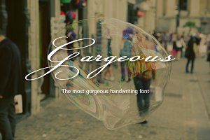 Gorgeous-Handwriting font