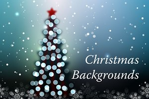 5 Christmas Backgrounds