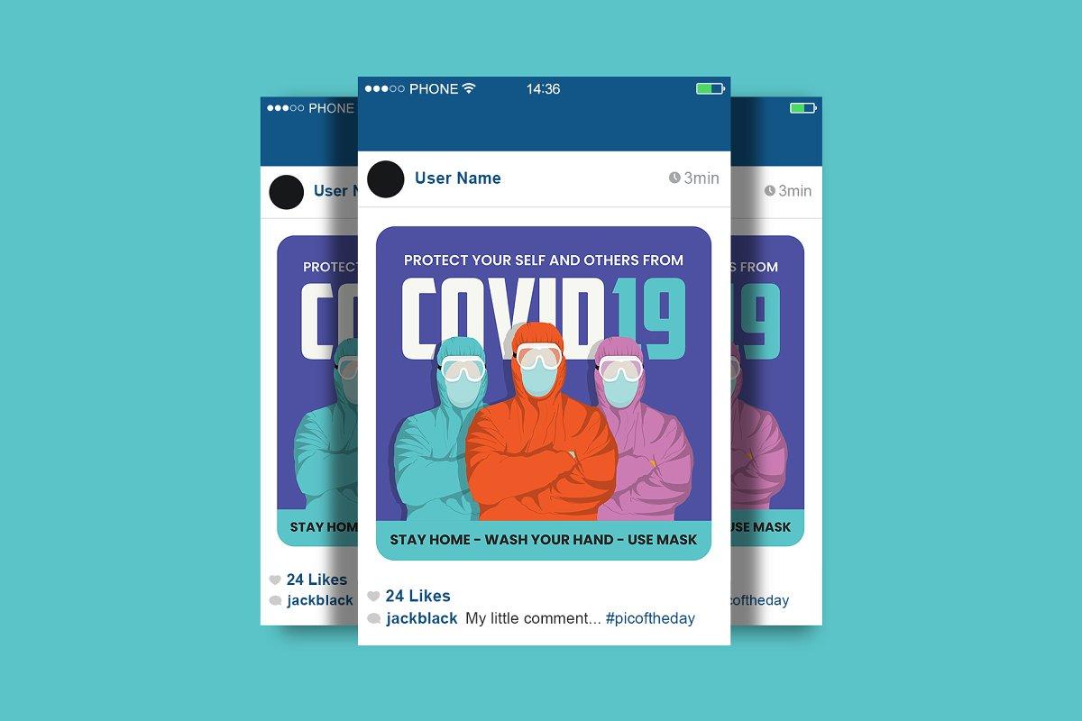 Corona Virus Social Media