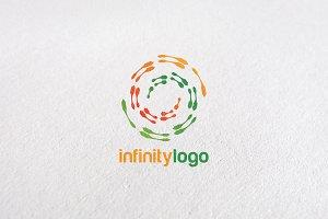 Premium Circle Infinity Logo Design
