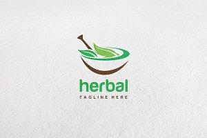 Premium Herbal Logo Concept