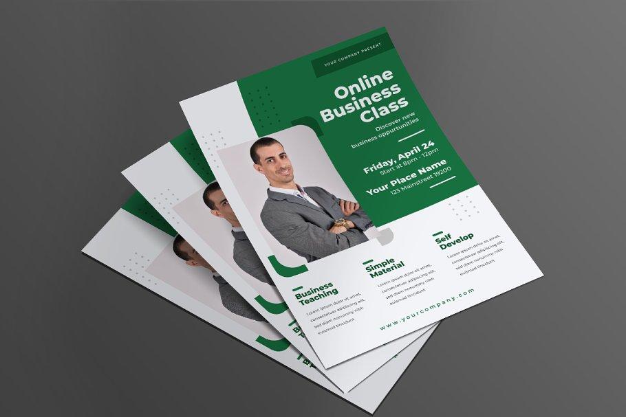 Online Business Flyer