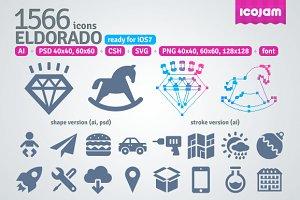 1566 Eldorado icons