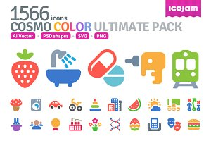 1566 Cosmo Color icons