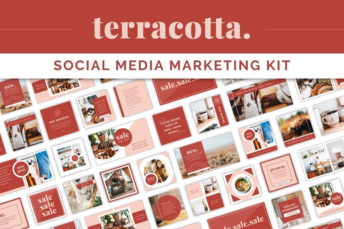 Terracotta Social Media Kit