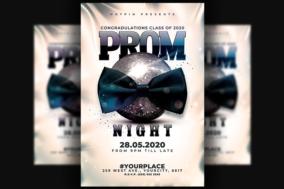 Prom Party Flyer