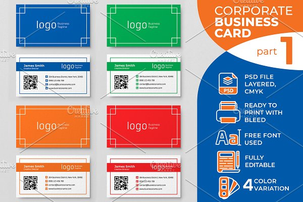 Corporate Business Card part 1