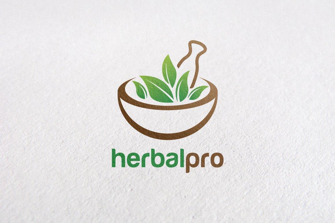 Premium Herbal Logo