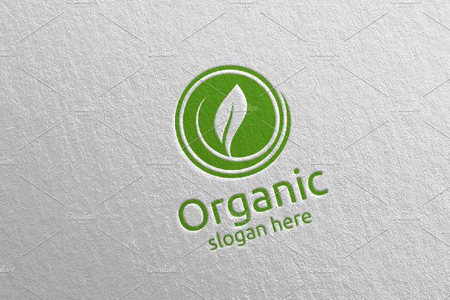 Natural and Organic Logo design 20