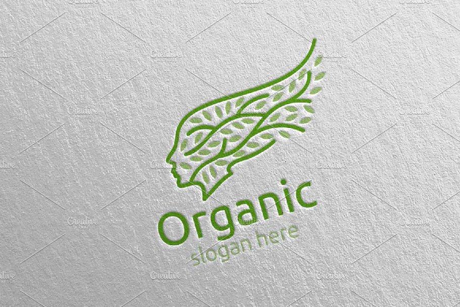 Natural and Organic Logo design 21