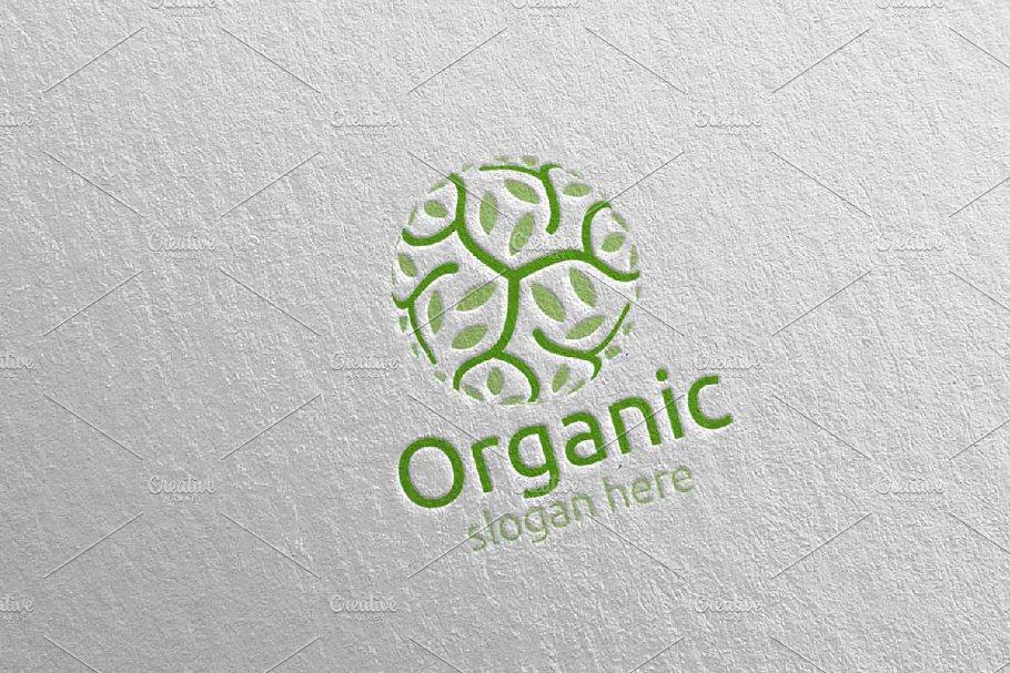 Natural and Organic Logo design 22