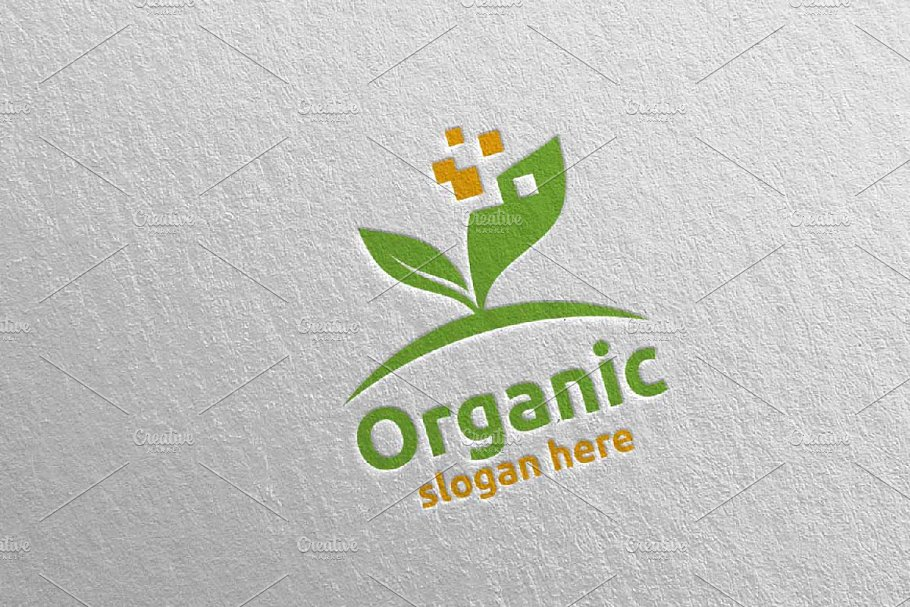Natural and Organic Logo design 23