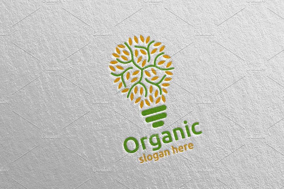 Idea Natural and Organic Logo 24