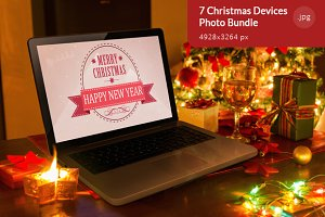 7 Christmas Devices Photo Bundle