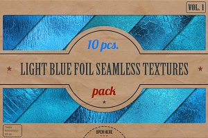 Light Blue Foil HD Textures Pack v.1