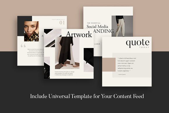 Lead Marketing Bundle   Canva & PS in Instagram Templates - product preview 4