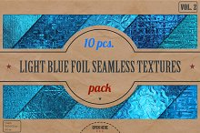 Light Blue Foil HD Textures Pack v.2