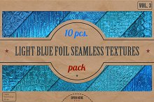 Light Blue Foil HD Textures Pack v.3