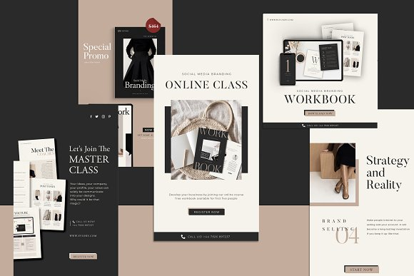 Lead Marketing Bundle   Canva & PS in Instagram Templates - product preview 12