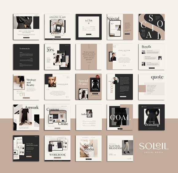 Lead Marketing Bundle   Canva & PS in Instagram Templates - product preview 14