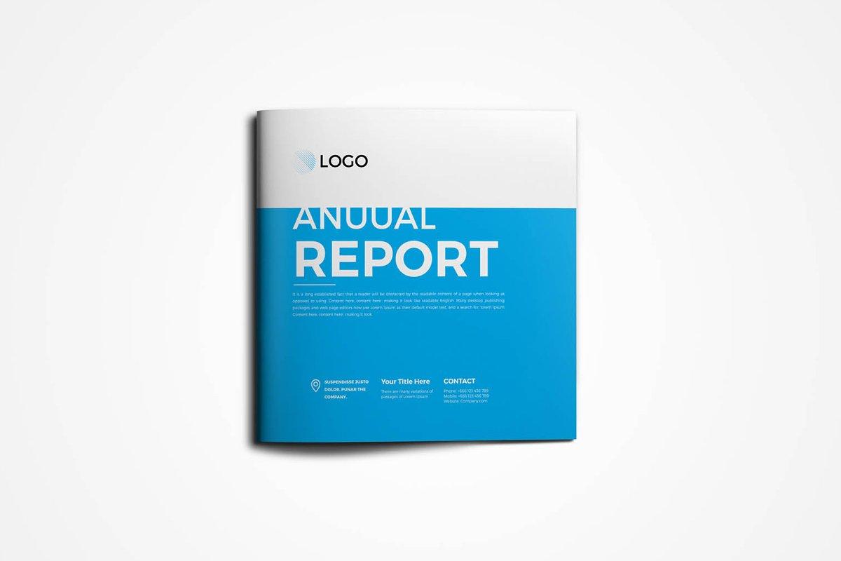 Square Annual Report Brochure