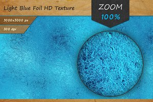 Light Blue Foil Tileable HD Texture
