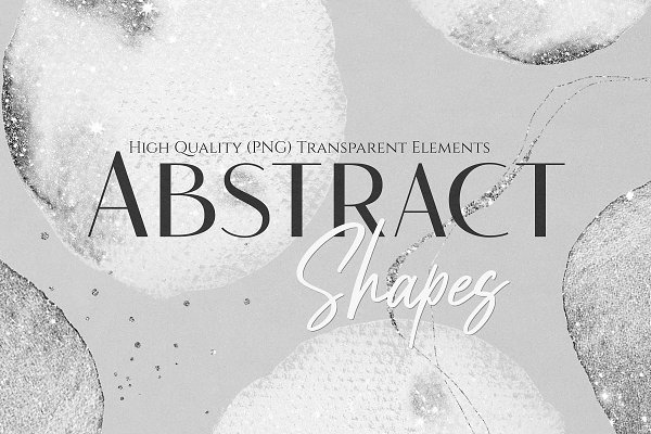 Watercolor Shapes (Png) Overlays