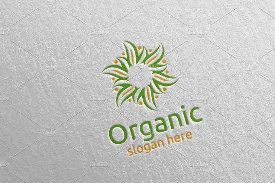 Natural and Organic Logo design 28